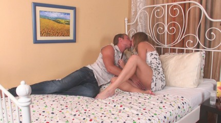 Young Olesya is brutally drilled in cowgirl position. 18 Virgin Sex XXX Porn Tube Video Image